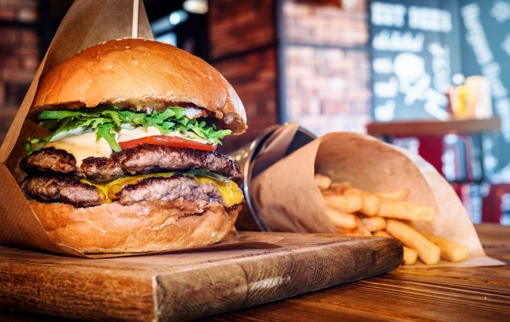 tropics burger